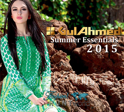Gul Ahmed Summer Essentials 2015