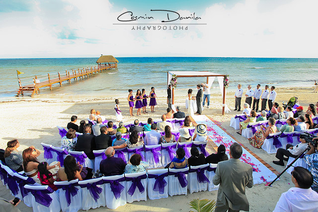 Cancun Riviera Maya Puerto Morelos Mexico Destination Weddings Azul Sensatori Resort East