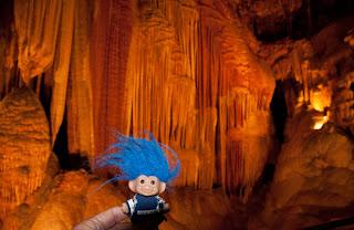Route 66 Meramec Caverns troll