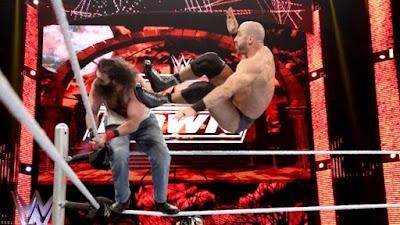 Cesaro Wyatt Smackdown Ambrose Brass Rings