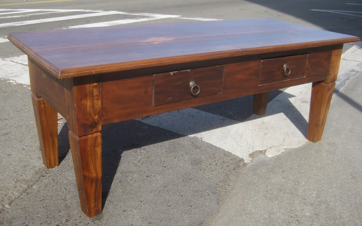 Uhuru Furniture Collectibles Sold Colorful Teak Coffee Table 90
