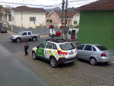 Carro do Google Street View em Itajubá MG