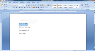b কিভাবে Business Letterhead WORD 2007 এবং 2010 এ তৈরী করা যায়? | Techtunes কিভাবে Business Letterhead WORD 2007 এবং 2010 এ তৈরী করা যায়