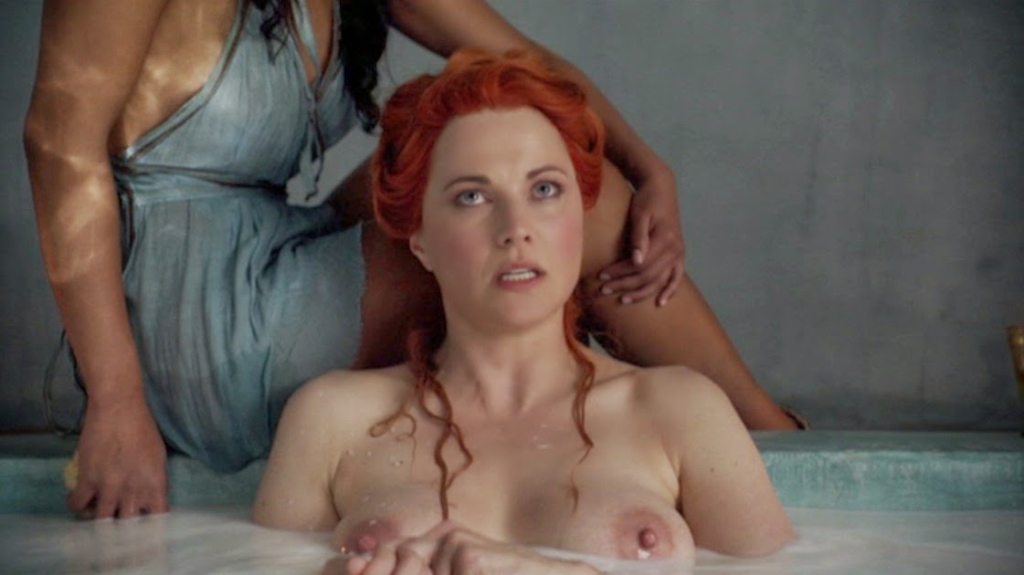 In spartacus lawless as lucretia lucy