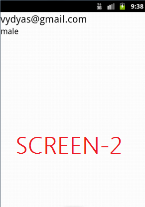 android php mysql screen2
