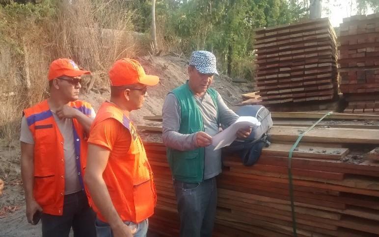 Visita de Técnicos da 4ª REDEC ao Município de Prainha-PA