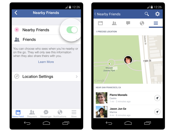Facebook 'Nearby Friends' Can Track Your GPS Location Continuously