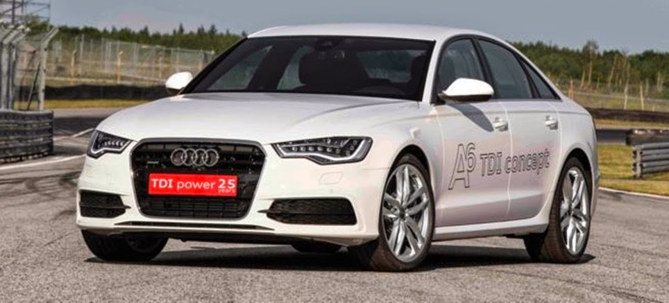 Audi A6 3.0TDI Concept