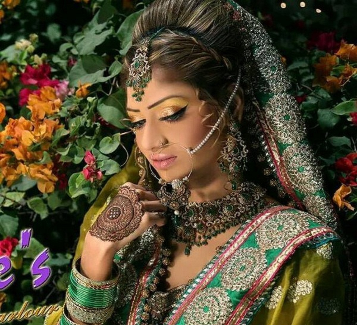 Latest Bridal Makeup Ideas For Bridal 2015 Wallpapers Free Download - FREE ALL HD WALLPAPERS ...