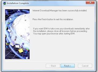 Cara Install IDM