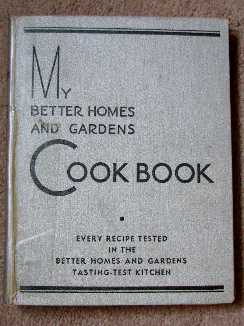 Digging in to my past family recipe friday the old Better homes amp gardens recipes