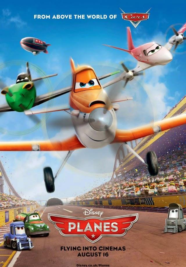 La película Planes (Aviones)