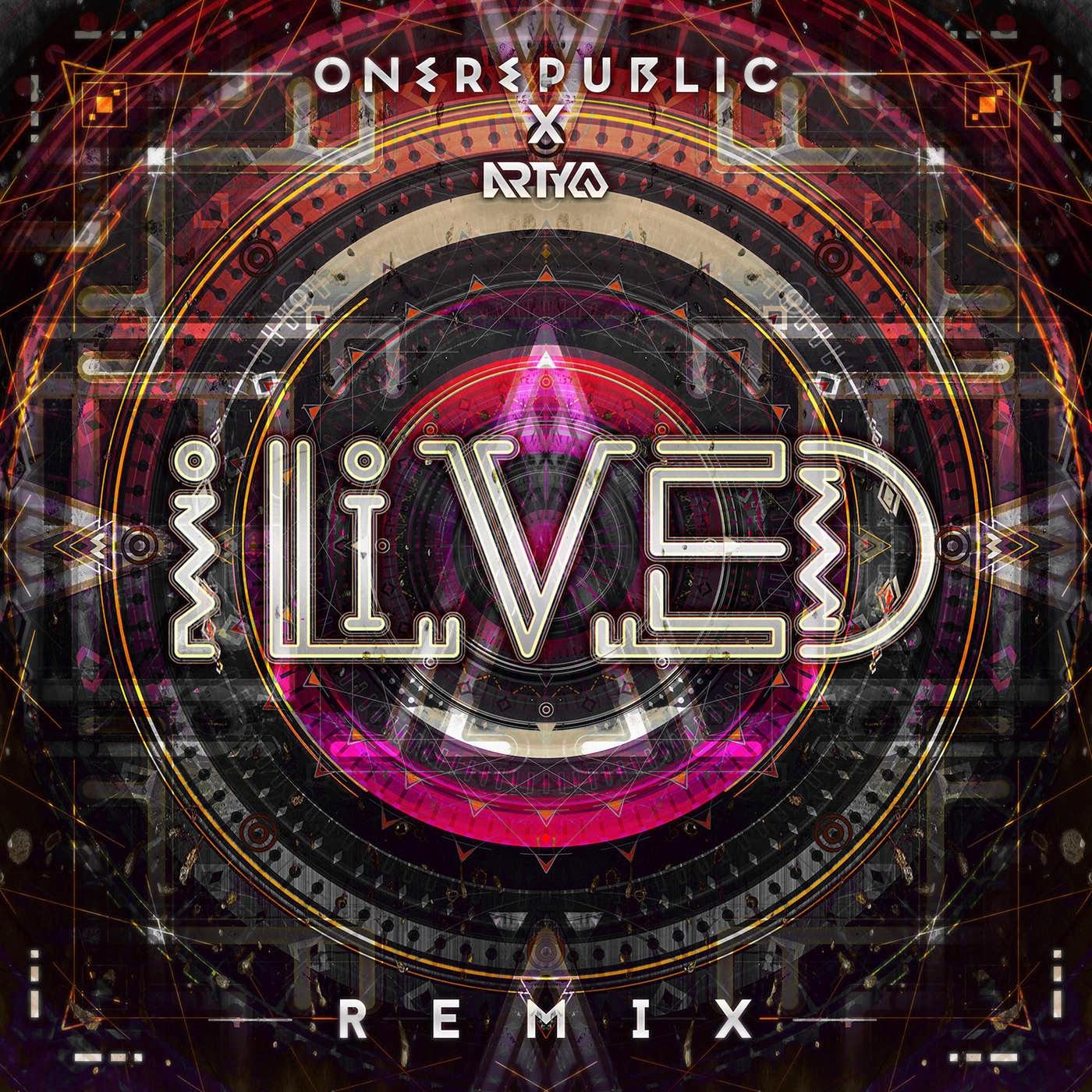 OneRepublic - I Lived (Arty Extended Remix) - Single Cover