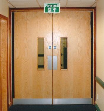 What Are Fire Doors Made From?