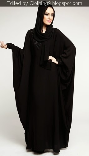 Luxurious and Affordable Plain Abaya