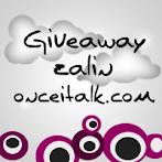 @12 april : Giveaway zalin onceitalk.com