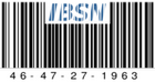 IBSN: Internet Blog Serial Number 46-47-27-1963