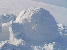 Inuit Eskimo Igloo