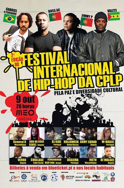 Iveth no 2º Festival Internacional de HIP-HOP da CPLP