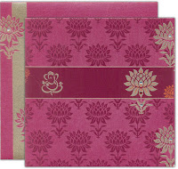 chic Indian invitation