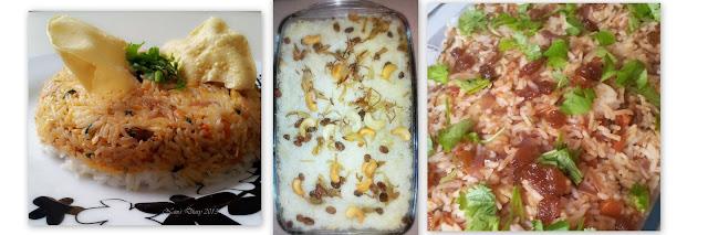 Sea Food Biryani & Chicken Biryani & Vegetable Biryani!!! (same method but few different ingredients)