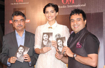 sonam at khalid mohammed book launch