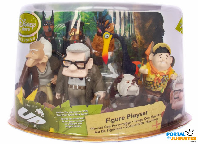 figuras up disney store set completo europa