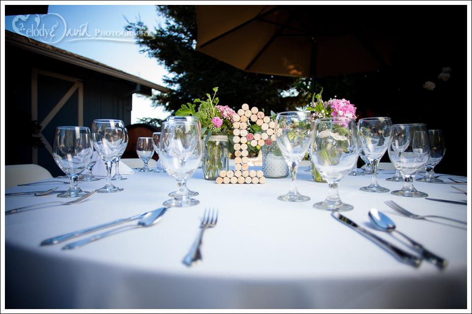 Harmony Wynelands tabletop setup