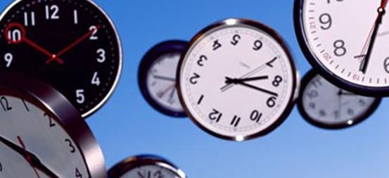 O tempo, passa... o tempo voa...