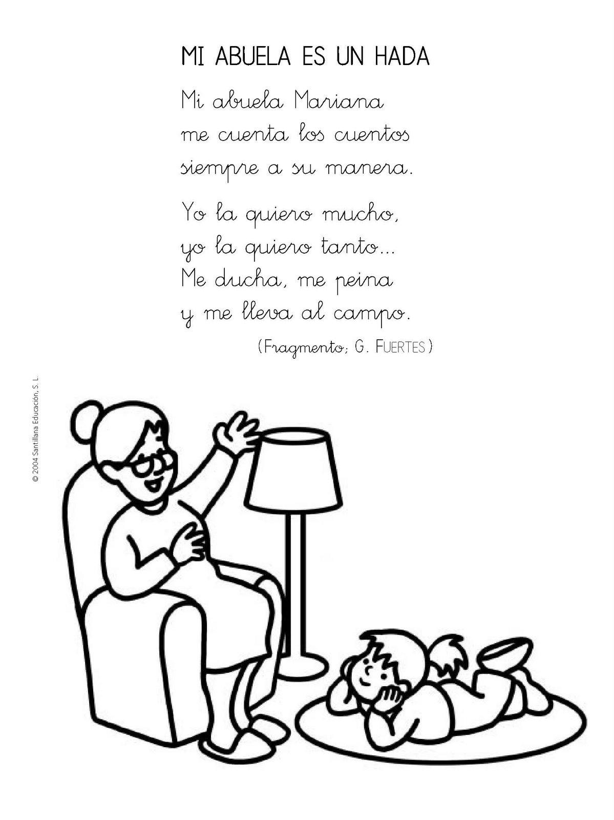 Poemas Para La Abuela Viva Wwwimagenesmycom