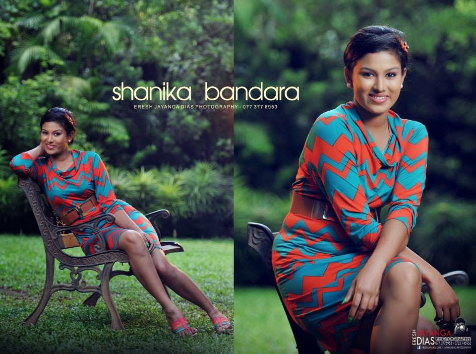 Shanika Bandara short dress