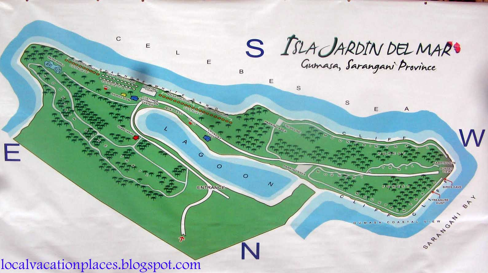 Vacation spot dream vacation destination isla jardin for Casas jardin del mar