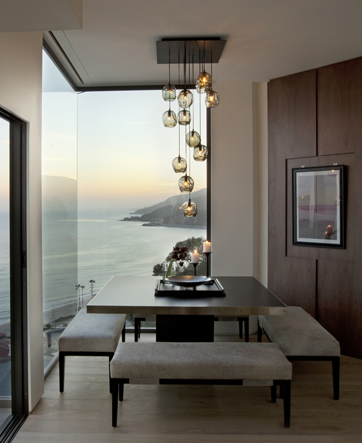 Dining corner in Ravello Residence by Shubin + Donaldson Architects