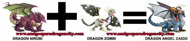 como hacer el dragon angel caido de dragon city formula 1