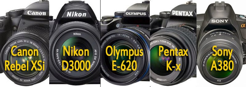 entry level dslr cameras, Why? And what to look for before buy one ...