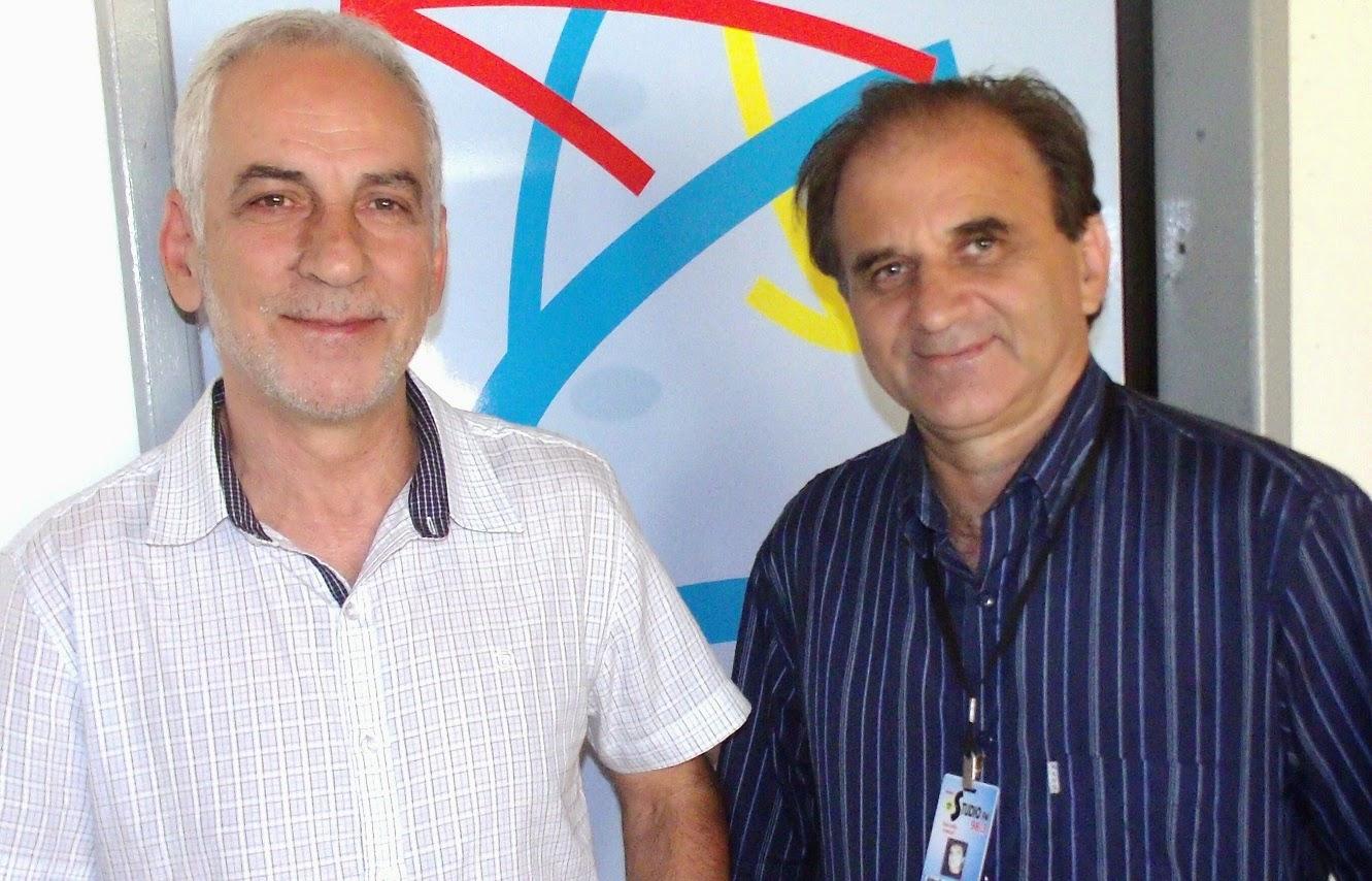 Airton Engster dos Santos e Gerson Teixeira