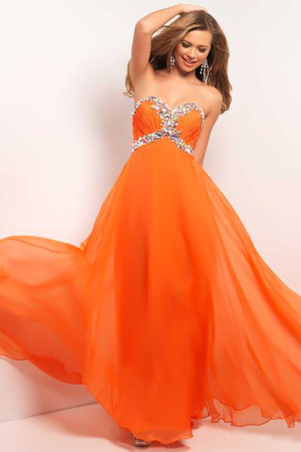 Orange for Prom