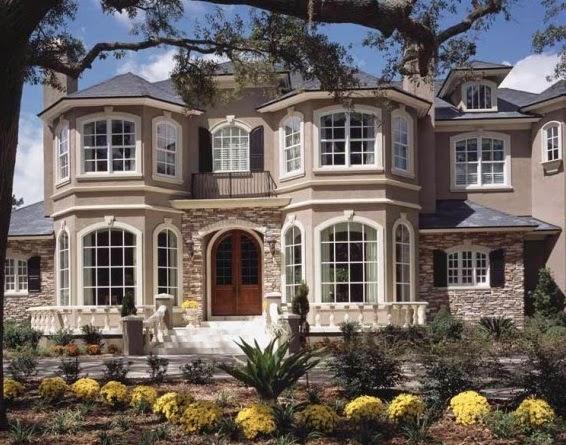 Fachadas de piedra fachadas de piedra para casas for European modern house plans