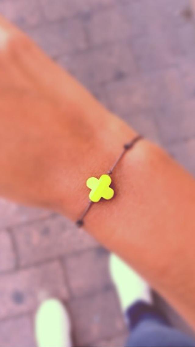 Le bracelet trèfle