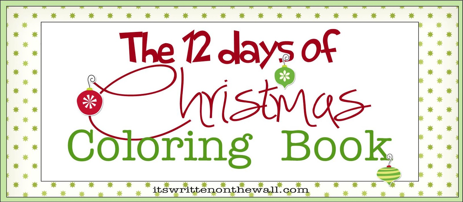 12 Days Of Christmas Printables (freebie) christmas coloring