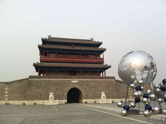 Homem de Ferro 3 Pequim set de filmagem