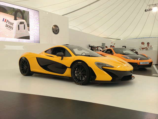McLaren P1 Goodwood