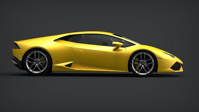 Lamborghini Huracán LP 610-4 side