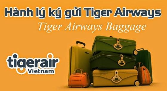 Quy định hành lý xách tay của Tiger Airways