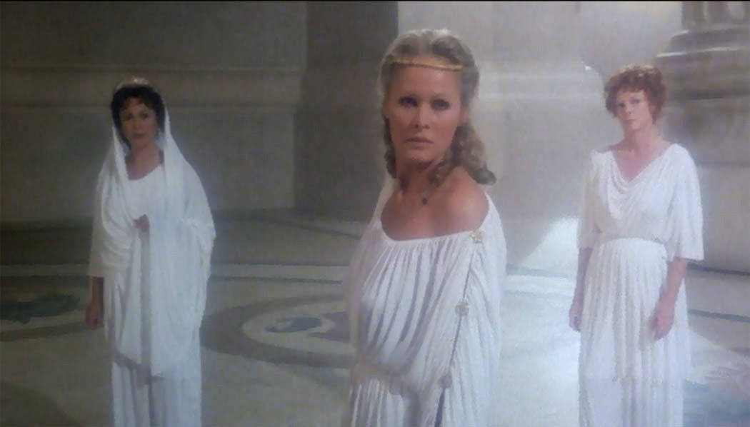 Movies You May Have Missed - Clash of the Titans  1981 Ursula Andress Clash Of The Titans