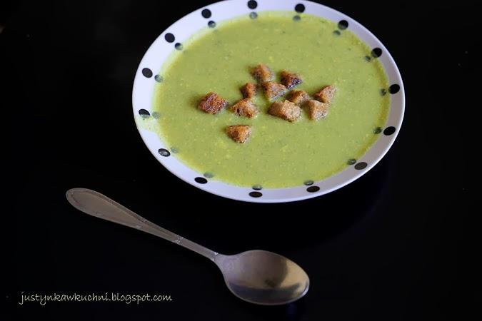 Zupy krem, brokuły, musztarda, camembert, Obiad, brokułów, warzywna, marchewka,