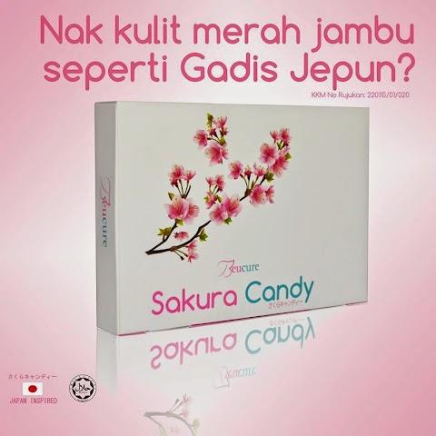 Sakura Candy Beucure : Nak Kulit Merah Jambu Seperti Gadis Jepun??