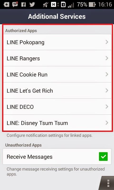Cara Menonaktifkan Notifikasi Undangan Game di LINE
