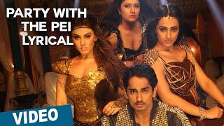 Party With The Pei Song with Lyrics Aranmanai 2 Siddharth Trisha Hansika Hiphop Tamizha – YouTube