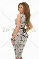 Rochie StarShinerS Sumptuous Silver (StarShinerS)